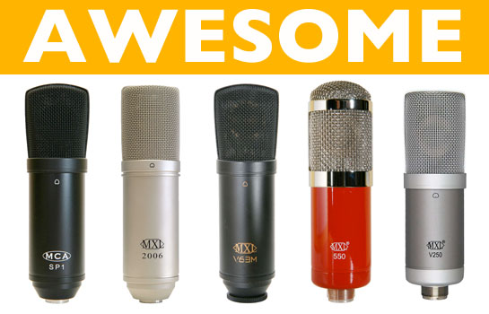 awesome-microphones