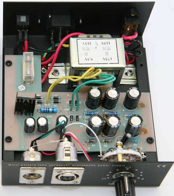 Cheap tube mic power supply